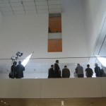 Marina Abramovic: The Artist is Present, from the lobby MoMA May 2010