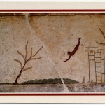 Roog Slab of so called  Diver's Tomb (Tomba el Il Tuffatore), Paestum, c.475 B.C.