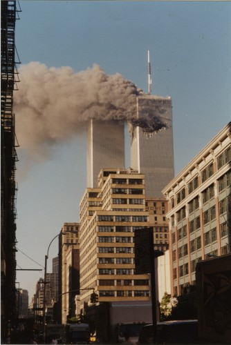 New York September 11 2001 Before and After