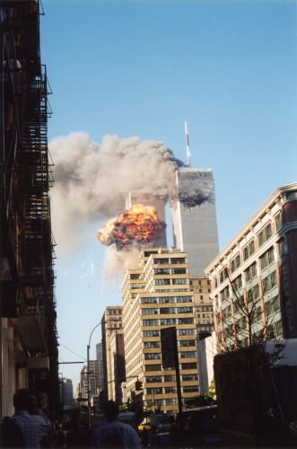 Days After Attacks World Trade Centers