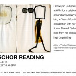 Invitation to a reading