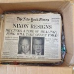 The news that was fit to print, then and now, on a birthday