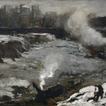George Bellows. Pennsylvania Excavation, 1907. Oil on canvas, 33 7/8 x 44 in. . Smith College Museum of Art, Northampton, Massachusetts.