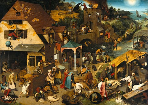 YEAR Philosophy Brueg 640px-Pieter_Bruegel_the_Elder_-_The_Dutch_Proverbs_-_Google_Art_Project