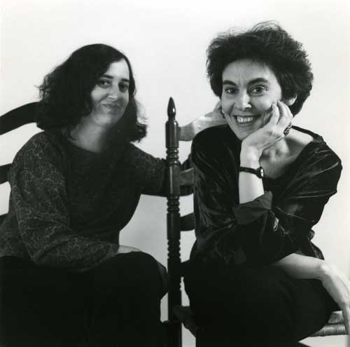 Susan and Mira, photo by Sarah Wells, 1991