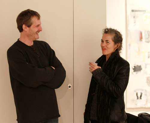 Bradley Rubenstein and Joan Waltemath, M/E/A/N/I/N/G 25th Anniversary party at Accola Griefen Gallery December 15, 2011