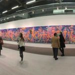 Ghastly huge work, all 689 inches wide of it, AIDA Makoto