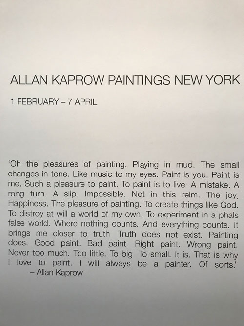 artists' writings | A Year of Positive Thinking